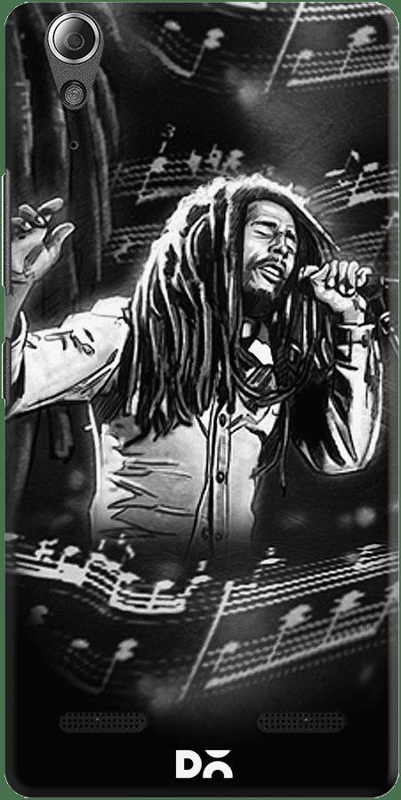 DailyObjects Bob Marley Black Case For Lenovo A6000