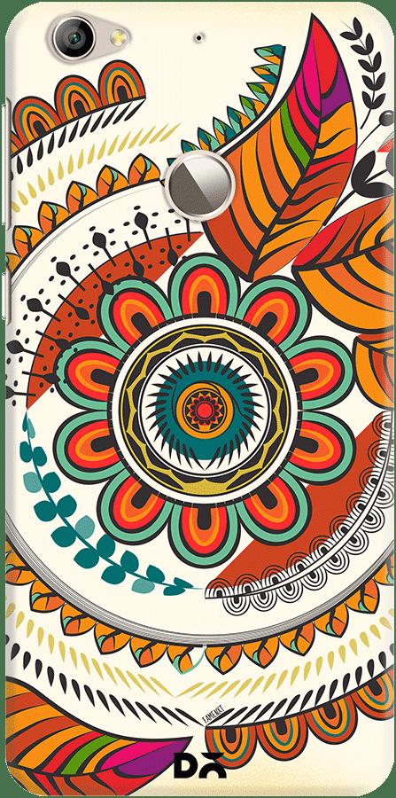 DailyObjects Autumn Warm Colors Mandala Case For Letv Le 1S