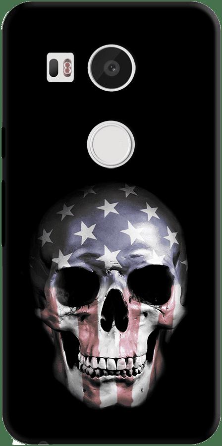DailyObjects American Skull Case For LG Google Nexus 5X