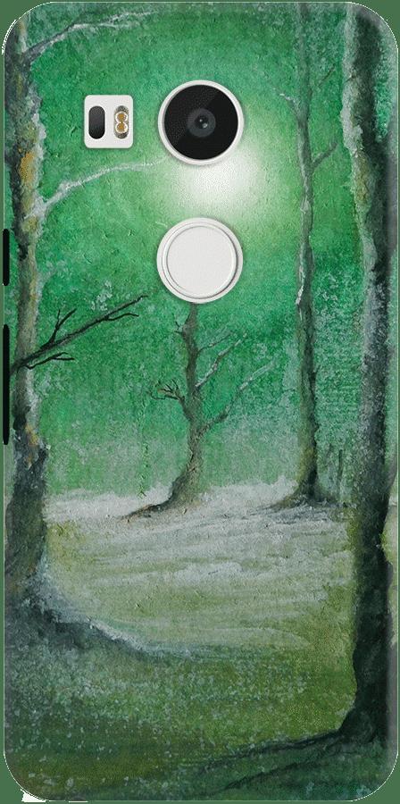 DailyObjects Green Winter Case For LG Google Nexus 5X