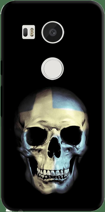 DailyObjects Swedish Skull Case For LG Google Nexus 5X