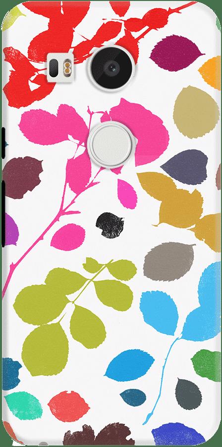 DailyObjects Wildrose Pattern Case For LG Google Nexus 5X