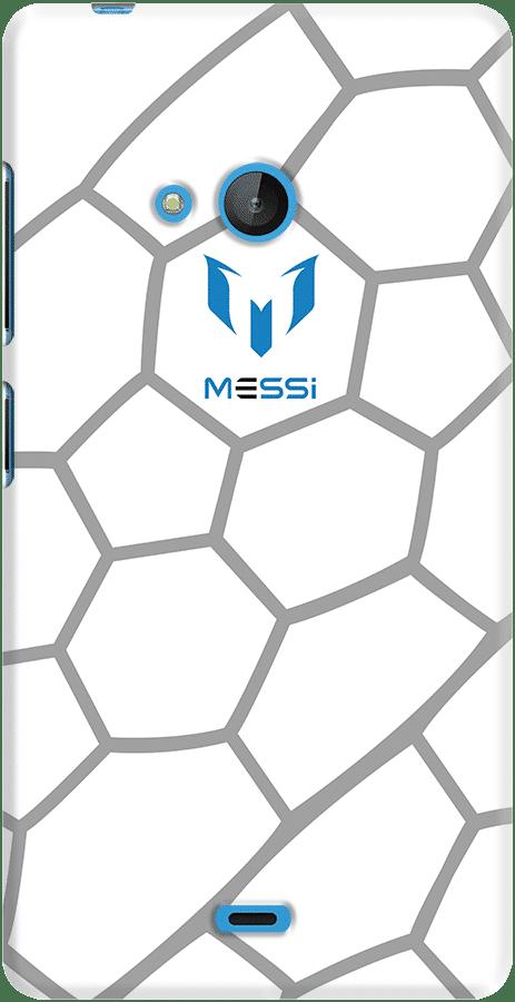 DailyObjects Leo Messi Honeycomb Case For Microsoft Lumia 540