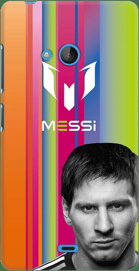 DailyObjects Leo Messi Rainbow Case For Microsoft Lumia 540