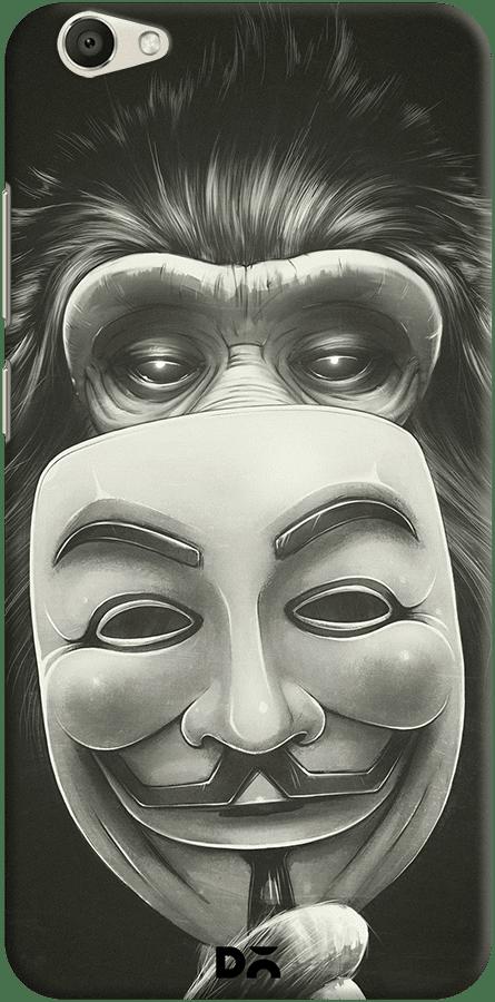 DailyObjects Anonymous Monkey Case For Vivo V5