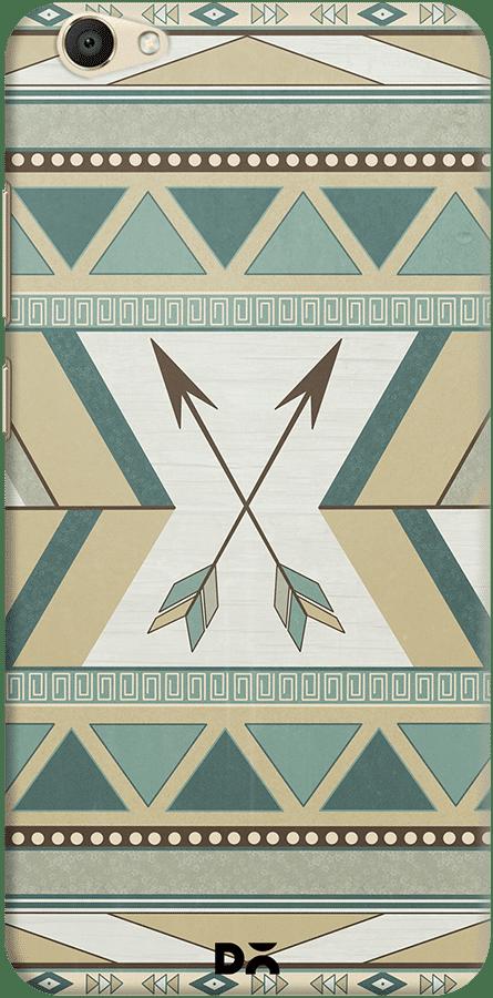 DailyObjects Aztec Pattern Arrows Case For Vivo V5